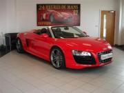 View Audi R8 5.2 FSI V10 Quattro Spyder (AD-1923) (2010) in Brilliant Red (Automatic)