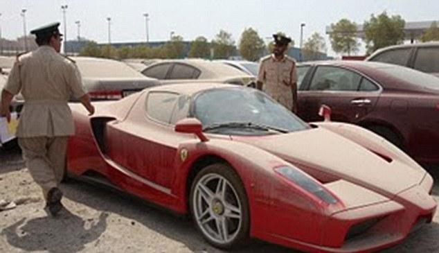 Ferrari Enzo seized by police in Dubai is auctioned. Dubai ...