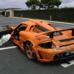 Gemballa Carrera GT Crashed by German Prince Marcus 2