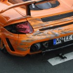 Gemballa Carrera GT Crashed by German Prince Marcus 3