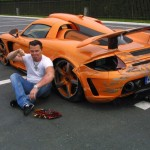 Gemballa Carrera GT Crashed by German Prince Marcus 5