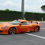 Gemballa Carrera GT Crashed by German Prince Marcus 6