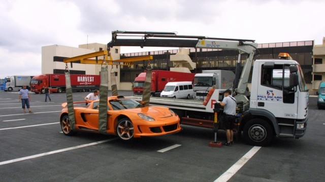 Gemballa Carrera GT Crashed by German Prince Marcus